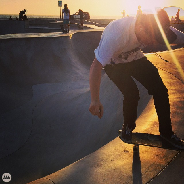 Venice Sunset Skate.  #GNARCISSISTIC