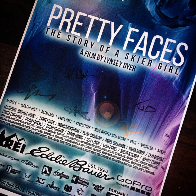 Look what came in the mail today! Our very own autographed copy of the @prettyfacesmovie poster. When we supported @lynseydyer's film on @kickstarter, we had no idea that we'd also end up hosting the premier in #SanFrancisco with @goodpeoplelife. And...