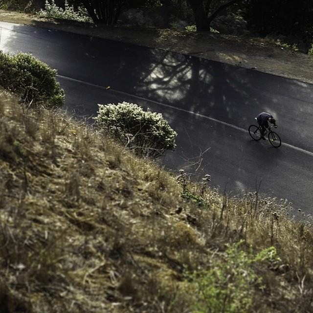 Solo weekend ride with Coal ambassador Jason Clary, aka @ridethetown   p: @statebicycleco