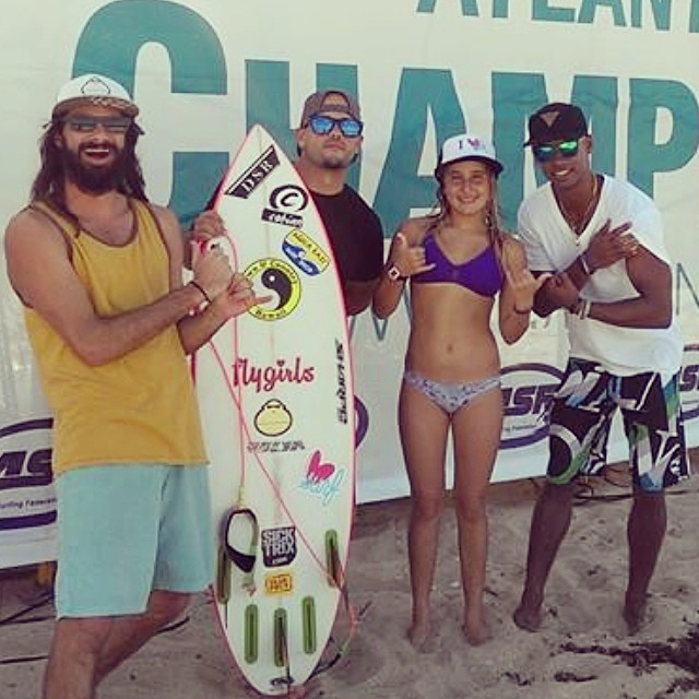 Congrats to Luv Surf's Team Rider, Hannah Blevins, for placing 1st in her U18! Good luck in the finals!