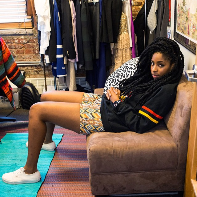 We spent the day and Q&A'd with The Daily Show correspondent @msjwilly and discovered she used to sell Nixon at a surf shop in LA.  Tune in to the full feature, now live on nixon.com/happenings. #thetimetellerp #nixon