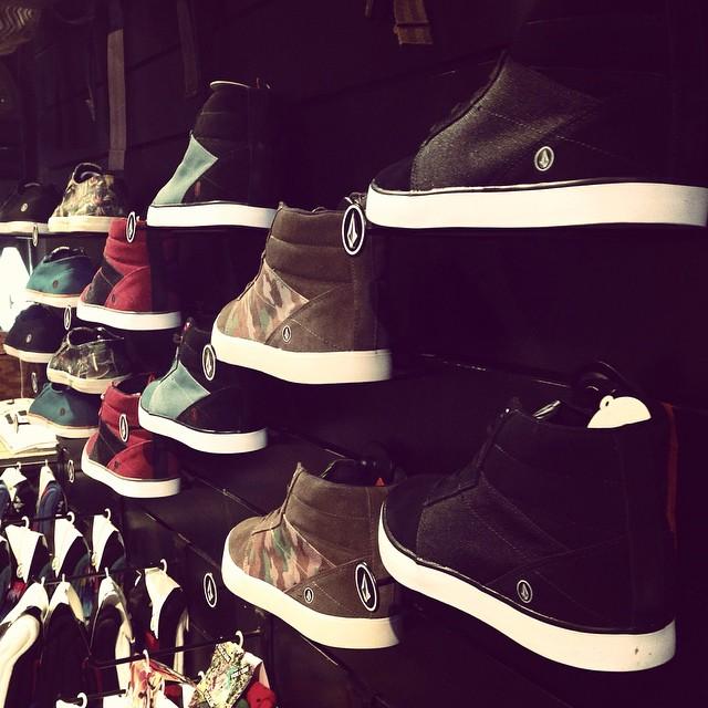 El momento llego! #volcomfootwear en todos nuestros Volcom Stores