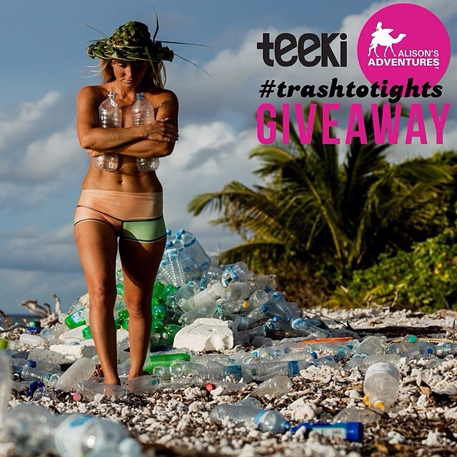 @teekigram + @alisonsadventures are doing a giveaway! Check out their latest posts on now to enter. #trashtotights