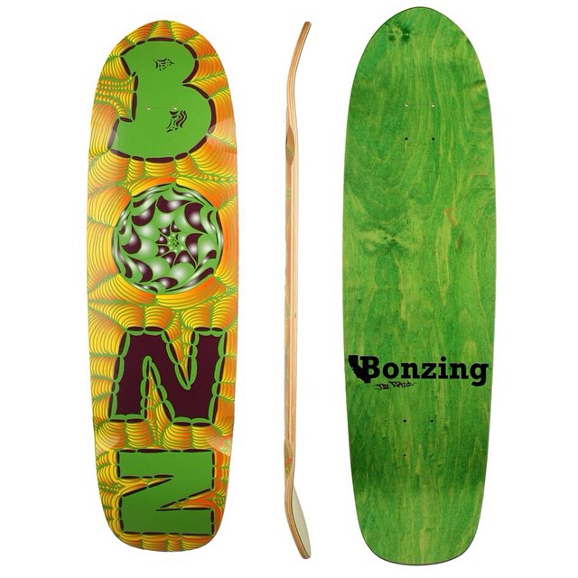 The Da Kine skateboard is sold out!  More will be available in the next few weeks.  #adriandakine #dakineskateboard #bonzing #sanfrancisco #skateboarding #shapers #artists @adrian_da_kine