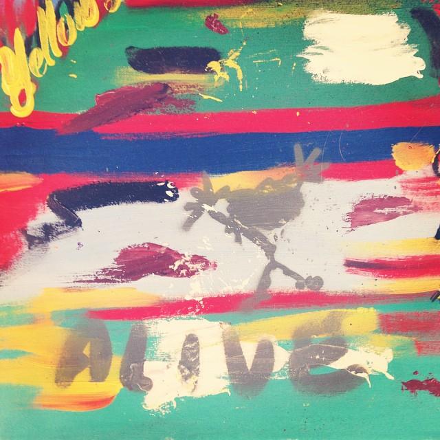 Óleo sobre tela... #chilimango #art  #arte #deco #pearljam #alive #surf #sea #surfing #surfstyle #music #musica #eddievedder