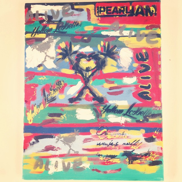 #pearljam #alive #music #musica #chilimango #ocean #surfstyle #sea #art #surf #surfing #beach #wave #oceans #oceano #rock