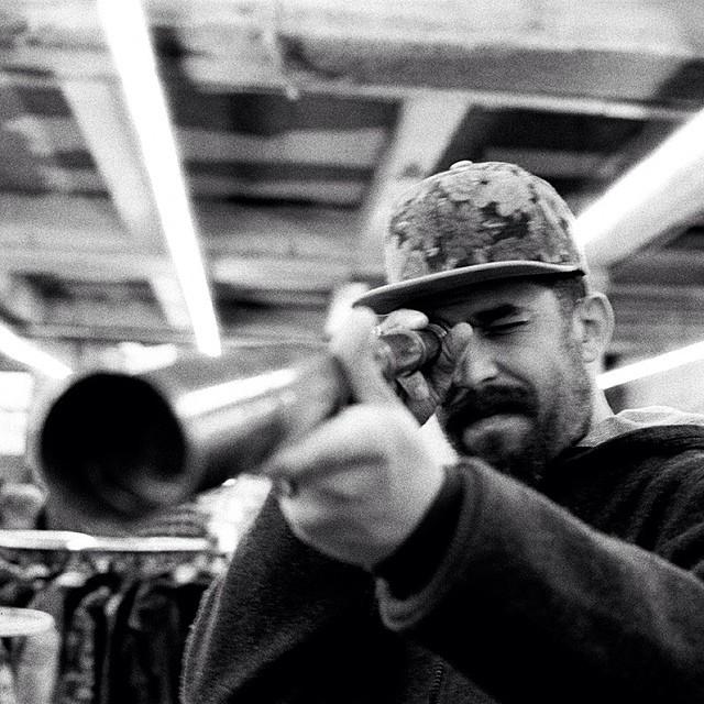 Thrift shop living with Curtis Brown | Coal x TheGoodLife! | p: @mistergoodlife | @wearethegoodlife @thecardinalnyc #makeitnice