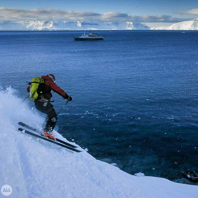 Traveler, Mountaineer, Skier, Adventurer, Photographer. Our good friend @mdkantor recently shared his stories from Antarctica last November. What a trip.... #GNARCISSISTIC #ski #antarctica #exploremore  PC: @mdkantor Place: ?, Antarctica