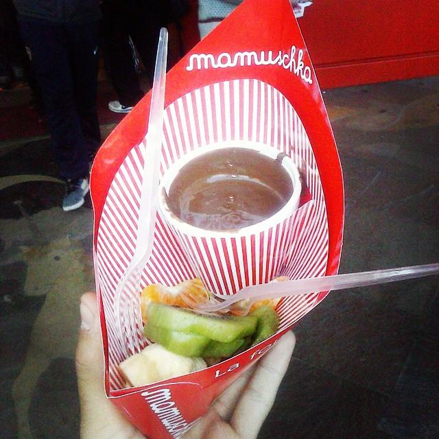 Porque gordo se vive mejor #mxd #brc #bariloche #mamuschka #chocolate