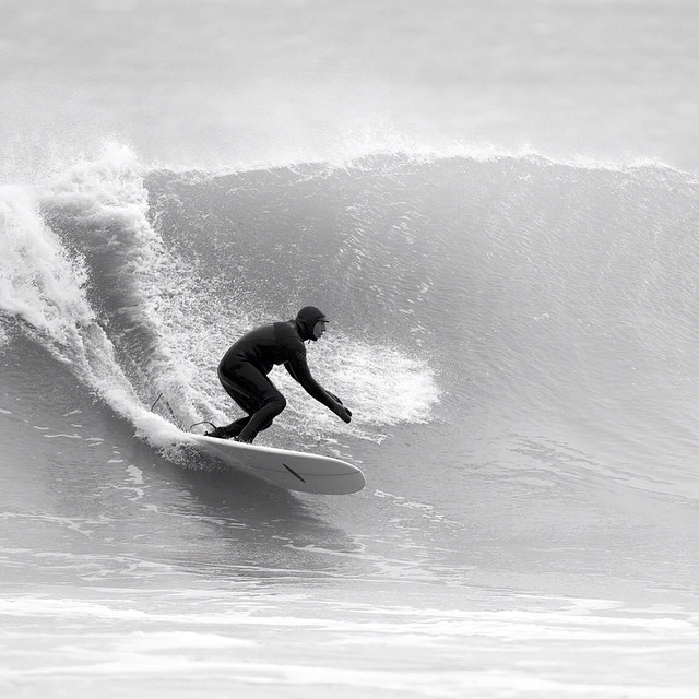 Not today. Roger Beal #coldwatersurf #white #cold #newengland #surf