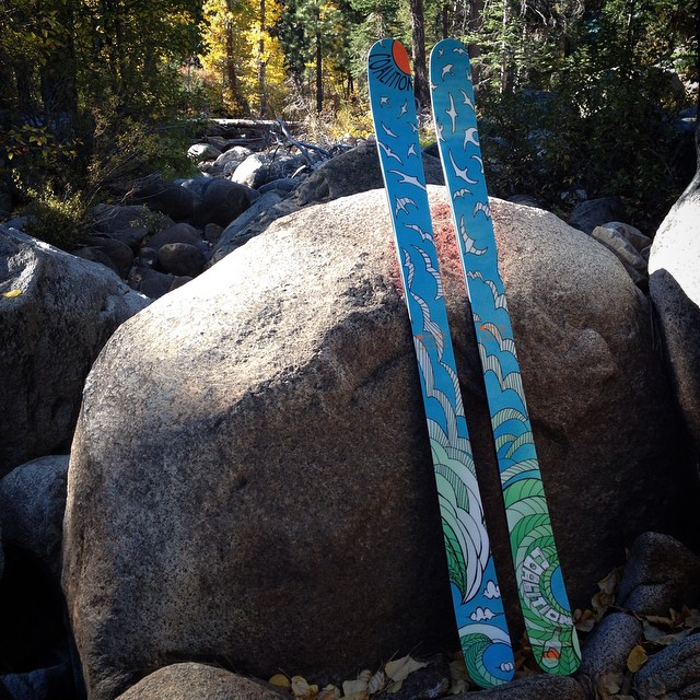 Here they are! Introducing the first line of Coalition skis. At 105 underfoot, 173 in length, and rocker tip and tail, the SS is just the ski you're looking for to round out your quiver. We were inspired by what women can do on the mountain rather than...