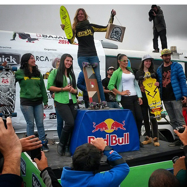 Oh hell yes dasss our girl @spokywoky on top of the podium for #festivaldelabajada yesterday !! WOOP WOOP! Repost from @diegoalemparte #staysteez #keepitholesom