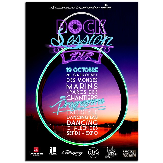 #DockSession #Tour October 19th #Nantes #France