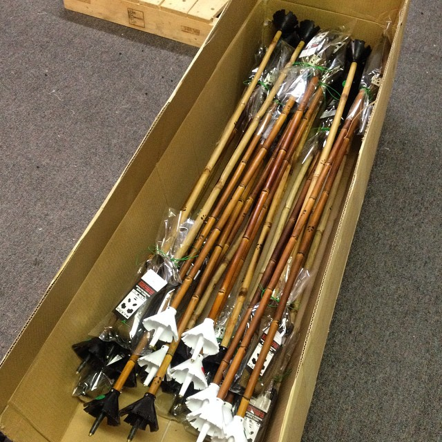 Fresh stack of Magic Ski Wands ready to ship to Nanuk Sport in St. Moritz, Switzerland... Huge thanks to Michel Schneider of Nanuk for opening our first Swiss account! #TRIBEUP Switzerland!  #PandaPoles #HandCrafted