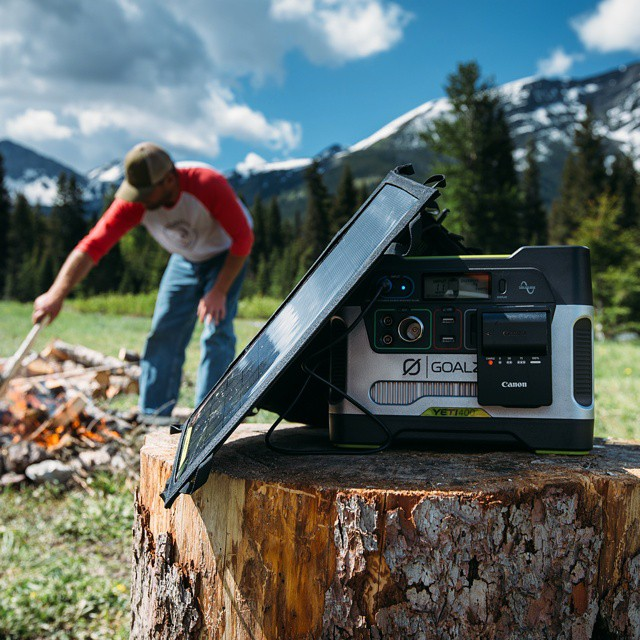 @andy_best uses the Yeti 400 to keep his camera running wherever he goes. Check out his feed to keep up with his travels. #GetOutStayOut