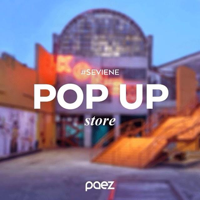 #seviene Paez Pop-Up Store en Buenos Aires! Ya se imaginan donde? ;)