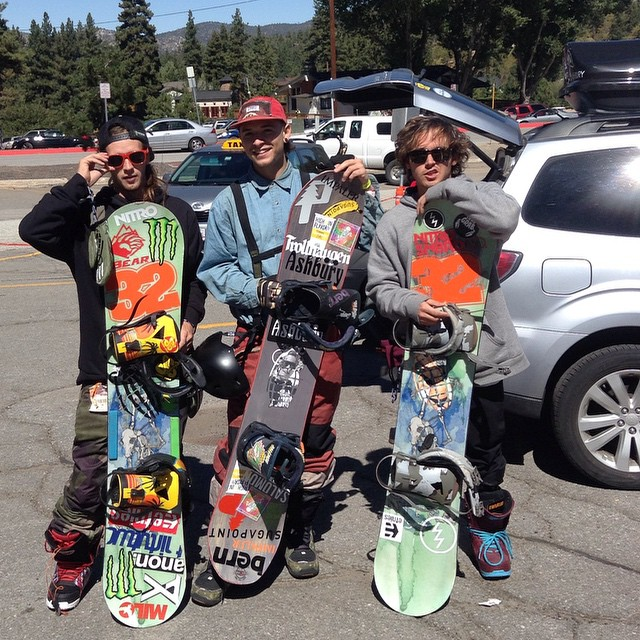 @bush_party @christianhobush  and Jesse pre shred at #hdhr2014  yesterday