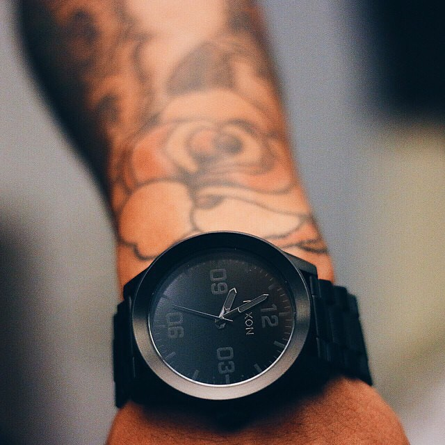 The Corporal SS in All Black, tagged #nixon by @eyevin_.  Do you have The Corporal SS? Tag yours #nixon and you might get featured, too.