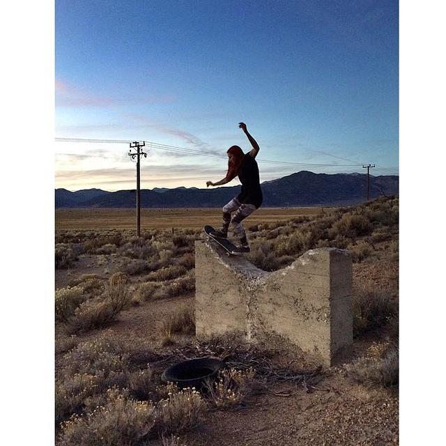 #regram Flux rider, Mariah Dugan @gnar__marr stays busy skating until the snow comes. My it come soon! ❄️