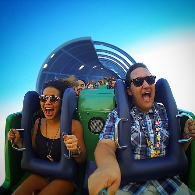 Have you ridden California Scream?! Hashtag #Kameleonz on your favorite Fall photo, we want to see them! This pic is from @nickchicken97 | #LifesABeach #ThisIsMyBeach #WheresYourBeach #GoPro #GoPole #EpicTravelSpots #California #RollerCoaster #utblogger