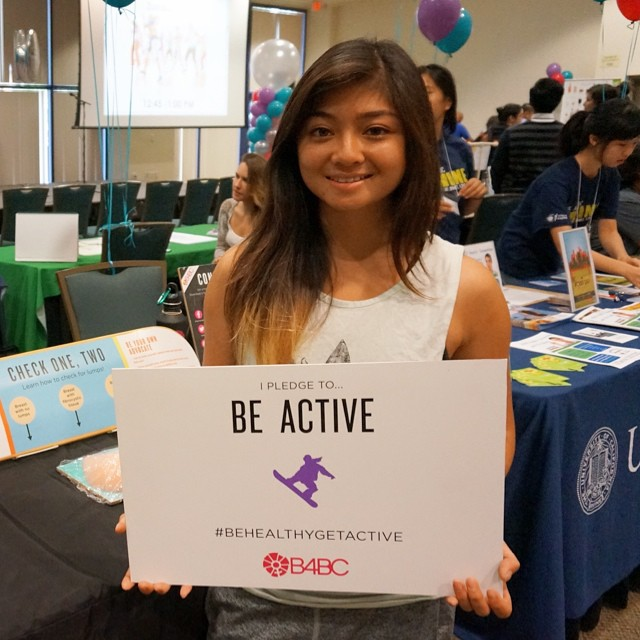 Our Check One, Two Campus Tour had a great day of educational outreach at UC-Irvine's health fair today. #TeamB4BC skater @AllyshaBergado even stopped by to show her support & take our prevention pledge!  Allysha is a freshman at #UCI this Fall,...