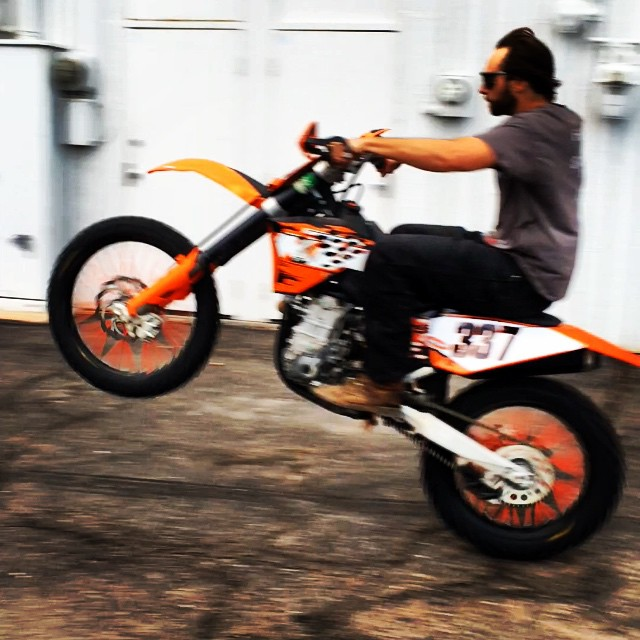@mccabeski loves shop shennanigans #wheeliewednesday