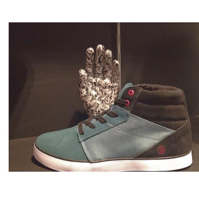 Grimm Mid Blue BLU #Volcomfootwear en todos nuestros #VolcomStores #SS15 #Volcom #Footwear
