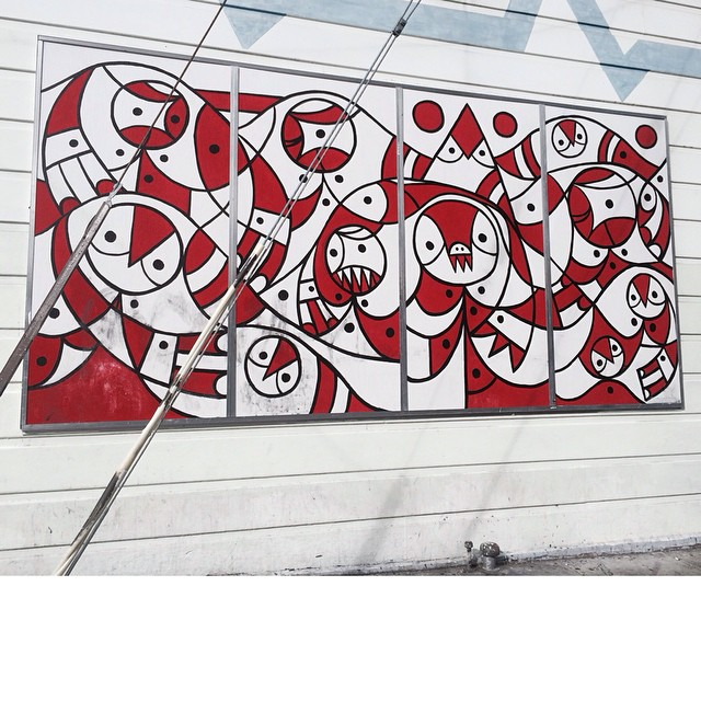 Don Pendleton mural outside of Juice Design!  #donpendleton #juicedesign #skateboarding #art #sanfrancisco #bonzing