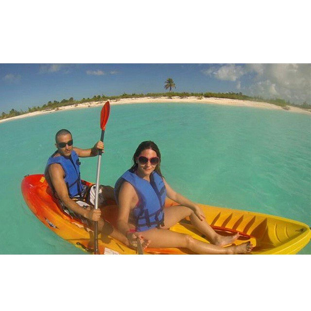 Tarde en kaya... en Playa Bonita (Cuba)