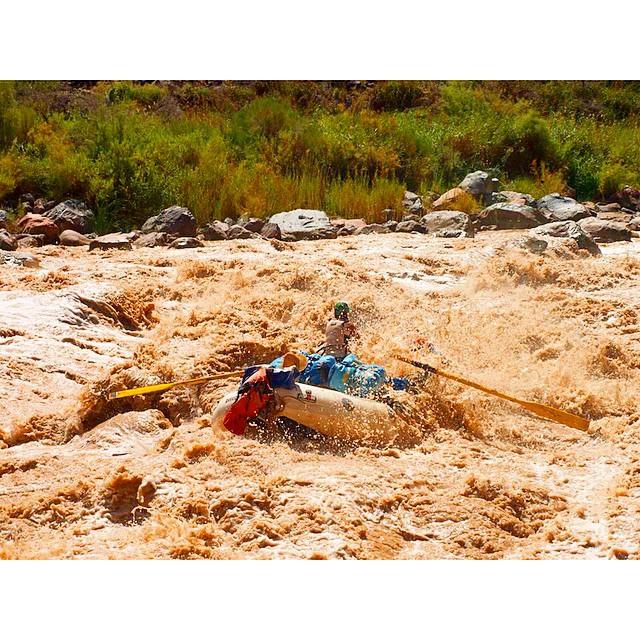 LAVA FALLS. #nuffsaid #grandcanyon