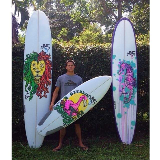 We'd like to introduce another one of our Activists, Danny Castillo! Danny was the talented artist behind the artwork featured on our first place shortboard for the Hawaii Surfing Championship. If you want to see more of Danny's amazing work, check him...
