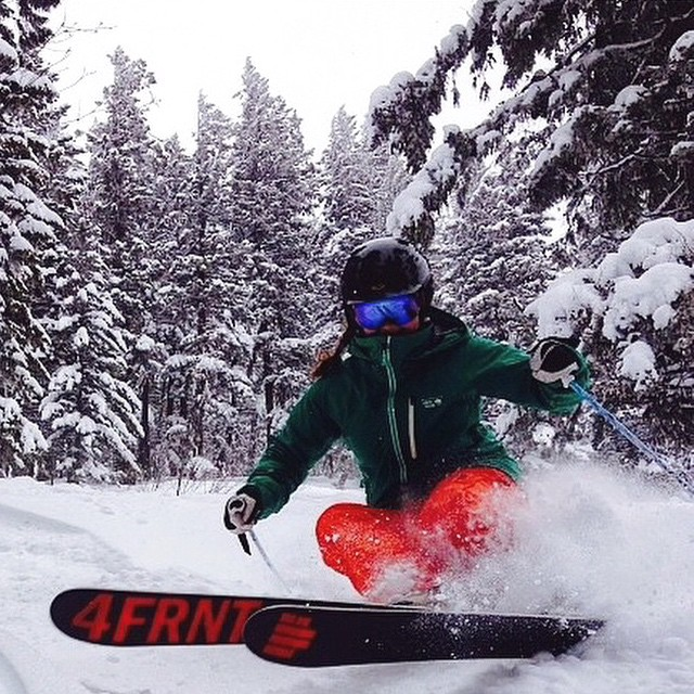 7 HOURS UNTIL ELEMENTS IS LIVE FOR STREAMING AND DOWLOAD!! @scottski517 is a member of the #4frntfam are you? Show us your shred pics with the #4frntfam tag! PC | @lexilou8 #riderowned #shapingskiing
