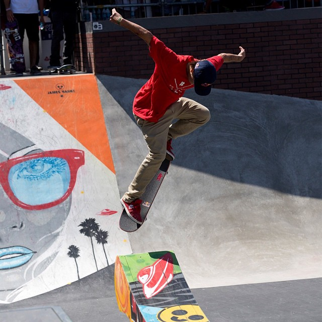 #TBT - In 2012, @shecks stuck a backside 360, en route to earning a silver medal in LA.  Click the link on our profile page to check out what he is up to today. (