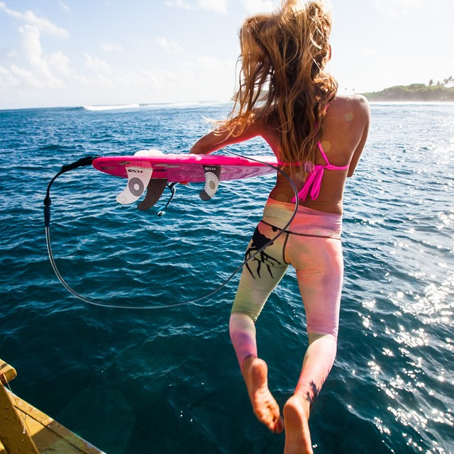 Jumping for joy to announce the WINNERS of our #TRASHtoTIGHTS contest to encourage earth loving habits and raise awareness about recycling!  Mahalo to everyone who participated and CONGRATS to: @_nativenatalie  @systaley @sunburntandsalty please email...
