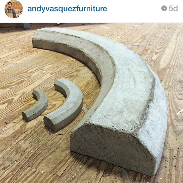 Follow this dude @andyvasquezfurniture and pick up a #parkingblock #paperweight as a great #holiday #gift #idea #skateboarding #longboarding #skateshops #skatelife #street #skating #throwback #thegoodolddays #oneup #pittsburgh #skatescene...