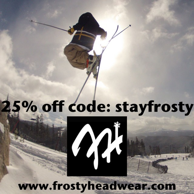 Offer ends tonight at 12 PM CST!  www.frostyheadwear.com