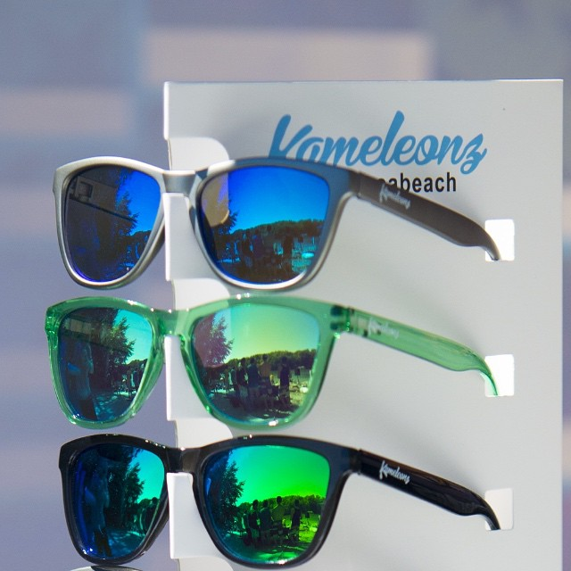 Good news! You can now find #Kameleonz Shades at Hawaiian Island Surf & Sport, check 'em out @hisurfnsport - Great pic by @jcoffeyy | #LifesABeach #WheresYourBeach #ThisIsMyBeach #BlueSteel #Rio #Bali #Hawaii #Maui #Sunglasses #EpicTravelSpots