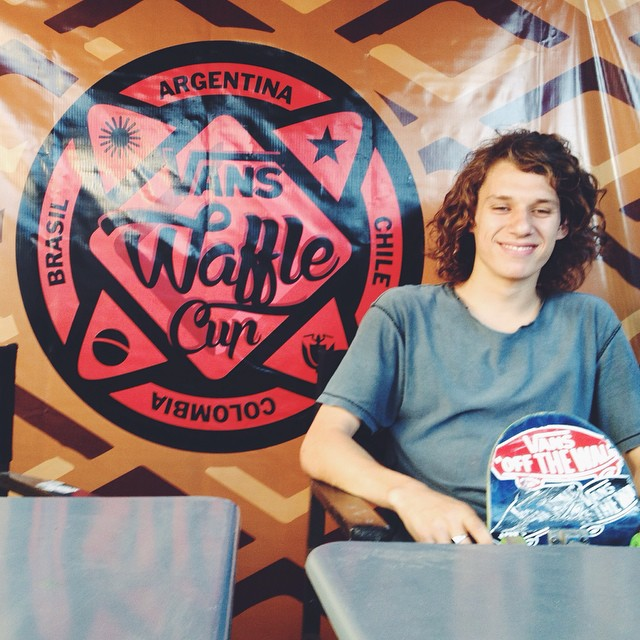 @perinapow, skater del #TeamVans, va a competir mañana en la fecha argentina del #VansWaffleCup
