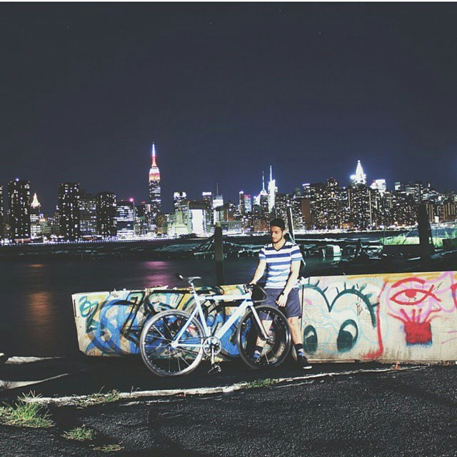 Empire State of Mind #fixedgear #NYC