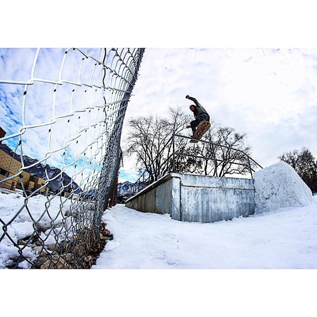 Check the shot of Smokin team rider @space_rok #BryceSalazar
