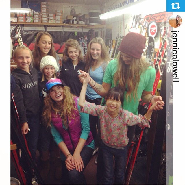 Thanks to all who kicked off the winter PNW season with our clinic at Alpine Haus! #gtgo #ladyshred #events #Repost from @jennicalowell with @repostapp --- @shejumps Wax Night at the Alpine Häus was so much fun last night! Thanks to all the lovely...