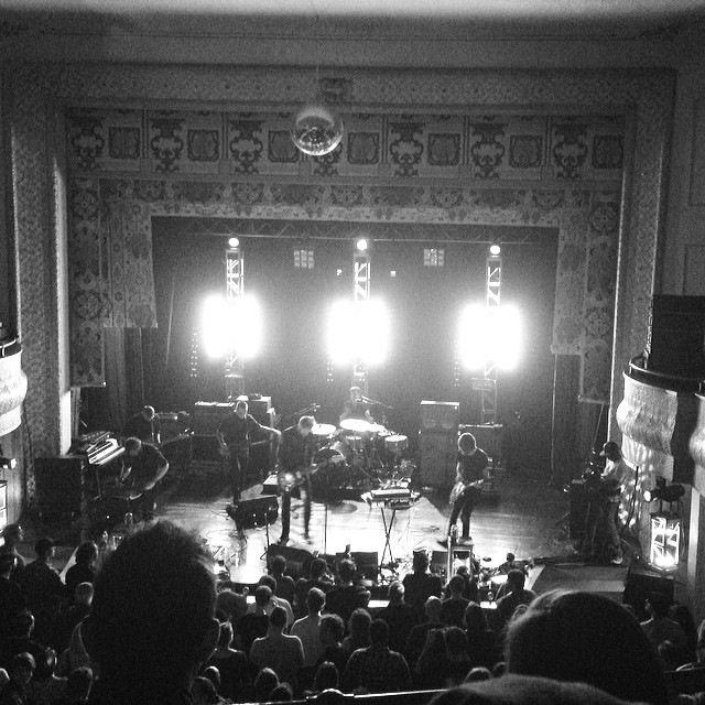 @caspianofficial concert on their official day. #beverlyma #larcomtheater #caspian #caspianday #livemusic #concert