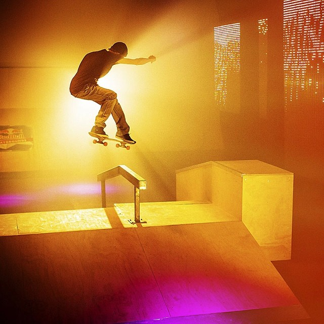 @decenzzzz turns up the brightness #skate