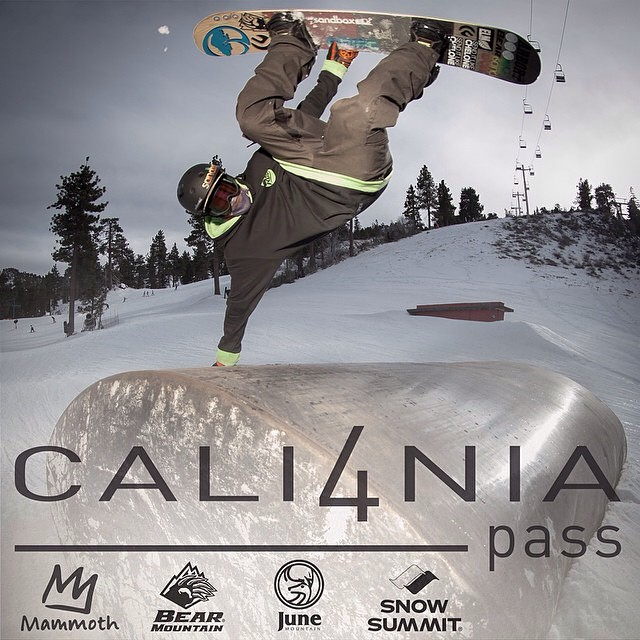 Flux rider, @scottyvine is featured in the Cali4nia pass sale for @mammothunbound @mammothmountain @bear_mountain @junemountain @snow_summit Pick one up before prices go up.  #flux #fluxbindings #snowboard #snowboarding ❄️