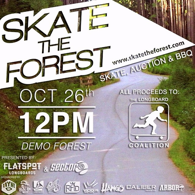 Caliber Truck Co. is proud to be a sponsor of this years Skate The Forest! If you're in the Vancouver area October 26th be sure to head out to the event! You don't want to miss it!