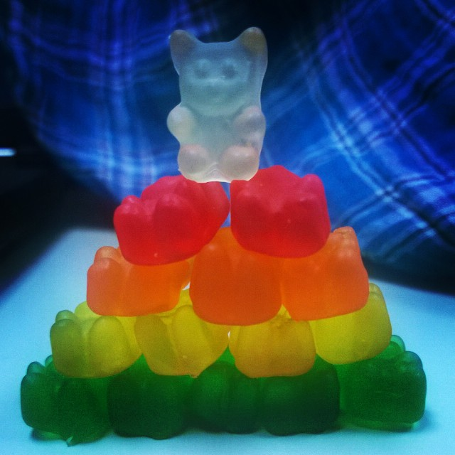 #100HappyDays día 26 GummyBearsssss!!
