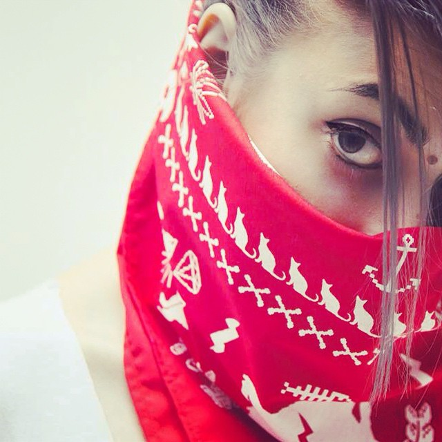 Coming soon bandanas UR /// PH @dorisphanic ///// Model @sawrina ❤️