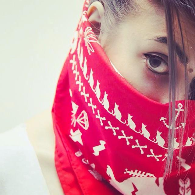 Coming soon bandanas UR /// PH @dorisphanic ///// Model @sawrina ❤️