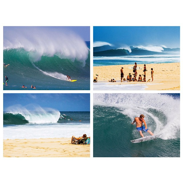 The first swells of the season are hitting Oahu.  Click the link on our profile page to check out our complete gallery. (Images via @jonsteelephoto)