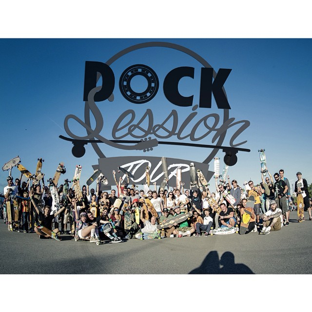 #DockSession #Tour first stop was a blast! #NantesCity @lotfiwoodwalker @docksession